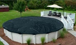 DELUXE Above Ground Round Swimming Pool Winter Covers - 8 Ye