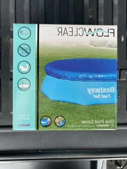 Flowclear 11 ft. pool cover fits round 10 ft pool- Bestway F