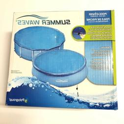 New Polygroup Summer Waves Round Pool COVER For 10ft-15ft Po
