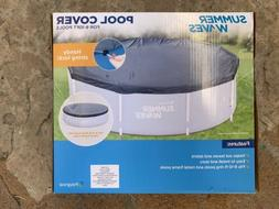 Summer Waves Pool Cover ☀️🔥🌊💦Fits 8-10ft Ring P