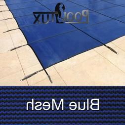 PoolTux - Pool Safety Cover - Royal Mesh - All Sizes - 15 Ye