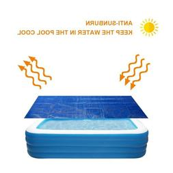 Rectangle Swimming Pool Cover for Garden Outdoor Paddling Fa