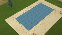 Yard Guard Rectangular Mesh In-Ground Pool Safety Covers
