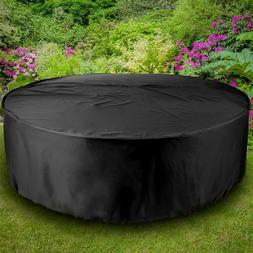 Winter Swimming Pool Cover Rainproof Round Case Outdoor Dust